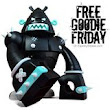 "SpankyStokes.com | Vinyl Toys, Art, Culture, & Everything Inbetween: Free Goodie Friday on SpankyStokes - Win a ""Stealth"" Badass vinyl figure by Kronk from Pobber Toys!!!"