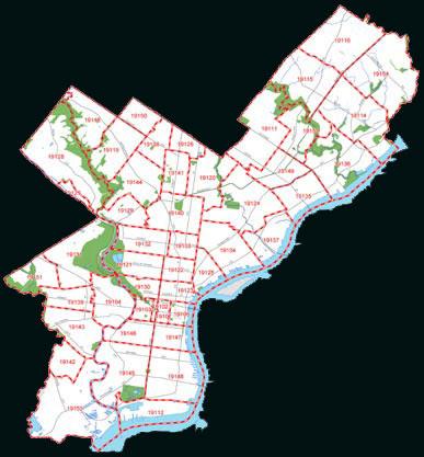 philadelphia zip code map pdf Us Postal Service Zip Code Map By County philadelphia zip code map pdf