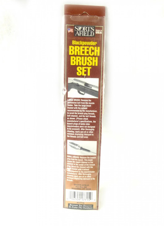 Sports Afield Blackpowder Breech Brush Set Made in U.S.A