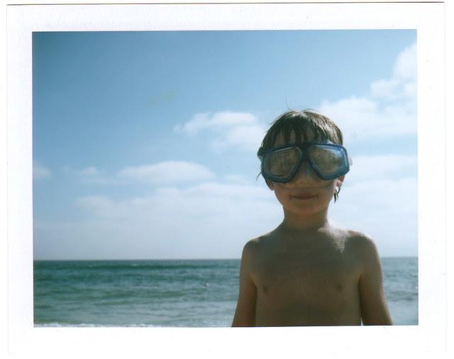 to swim in the ocean