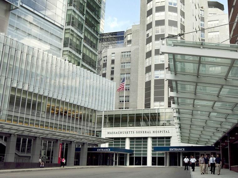 Il Massachusetts General Hospital di Boston, votato nel 2015 come miglior ospedale degli Stati Uniti