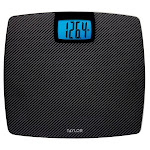 Taylor Glass Weight Tracking Scale with Carbon Fiber Finish 1358178
