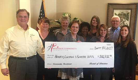 Heritage Community Foundation Provides $100,000 in Grants to Local Non-Profit Groups in 2017