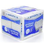 "Marathon Beverage Napkins, 9.5"" - 2000 count"