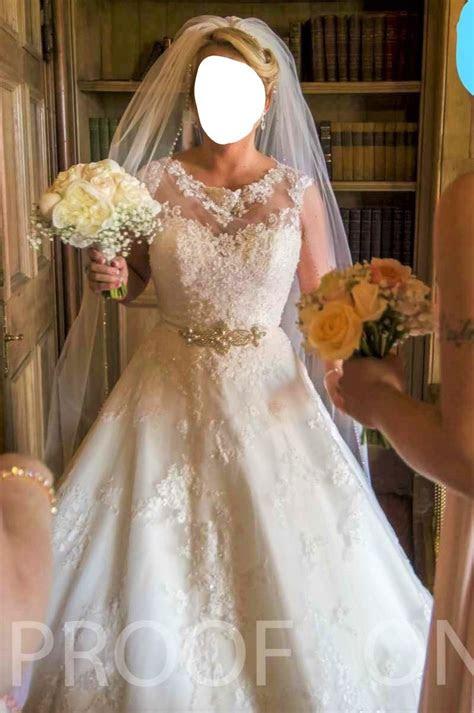 ronald joyce robyn  hand wedding dress  sale