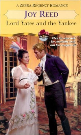 book cover of   Lord Yates and the Yankee   by  Joy Reed