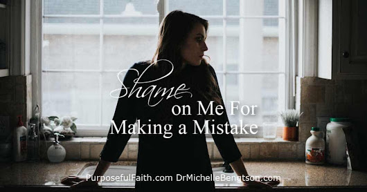 Shame On Me For Making A Mistake
