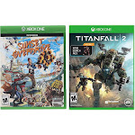 Microsoft Xbox Titanfall 2 with Bonus Nitro Scorch Pack & Sunset Overdrive Video Game Bundle XboxOne-TF2-SunOver
