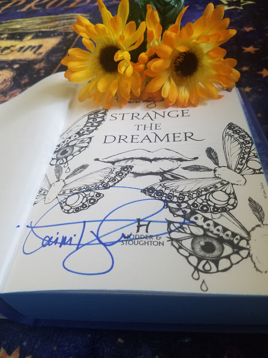 STRANGE THE DREAMER BY: LAINI TAYLOR