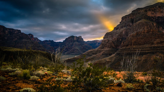 Sunset Over Grand Canyon West