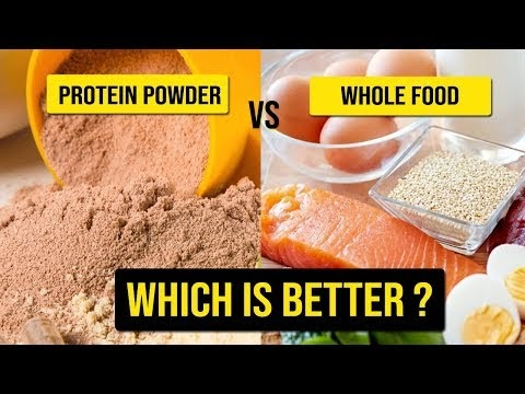 Protein Powders vs. Whole Food | Which is Better?