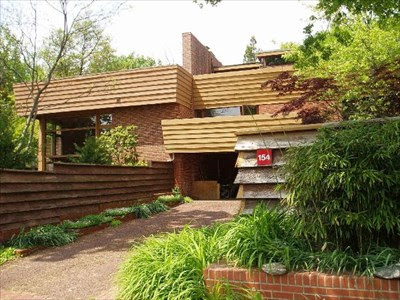 Suntop House In Ardmore Pa Frank Lloyd Wright Designed Buildings