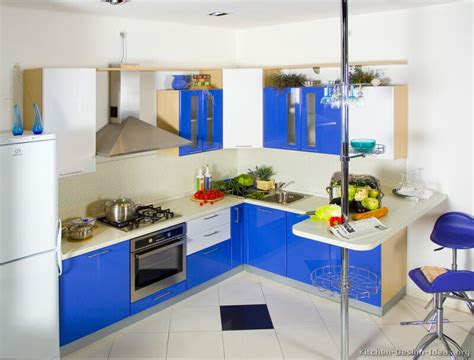 modern blue kitchen cabinets pictures design ideas