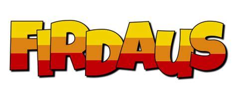 firdaus logo  logo generator  love love heart