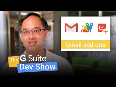 Gmail add-ons framework now available to all developers