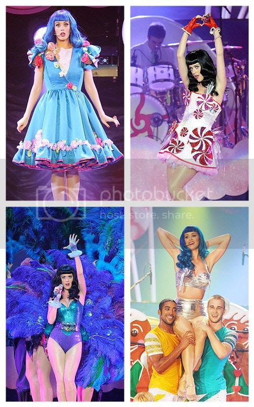 Katy Perry: Part of Me Costumes