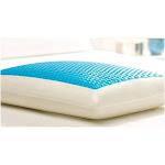 Comfort Revolution Hydraluxe Gel Memory Foam Bed Pillow - King/Blue
