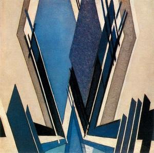 La forma de zul - (Frantisek Kupka)
