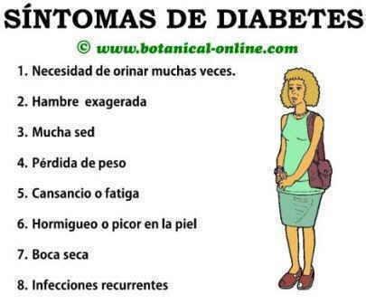 blog del ingeniero Ernesto Ibáñez: Síntomas de la Diábetes