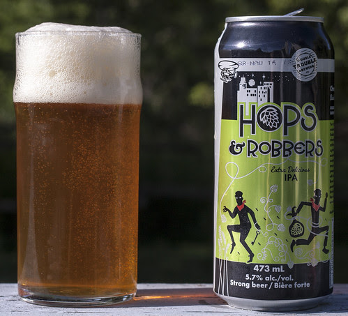 Review: Hops & Robbers IPA (Double Trouble Brewing) by Cody La Bière