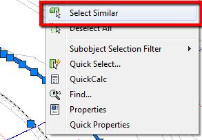 AutoCAD 2012 select similar