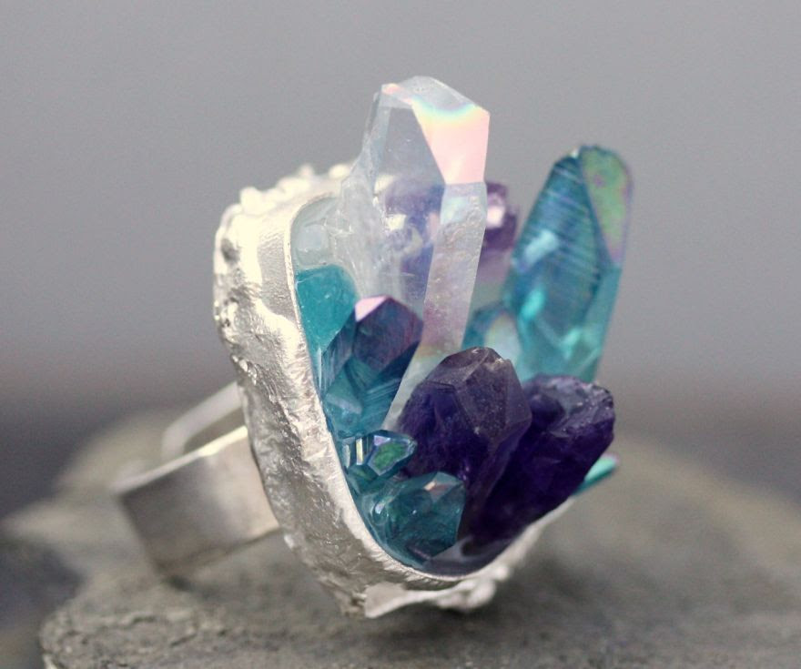 Raw Crystal Ring
