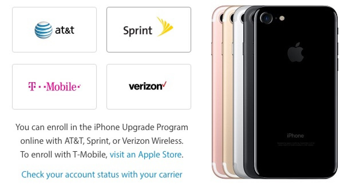iPhone 7 Models From AT&T and T-Mobile Do Not Support CDMA Networks - Mac Rumors