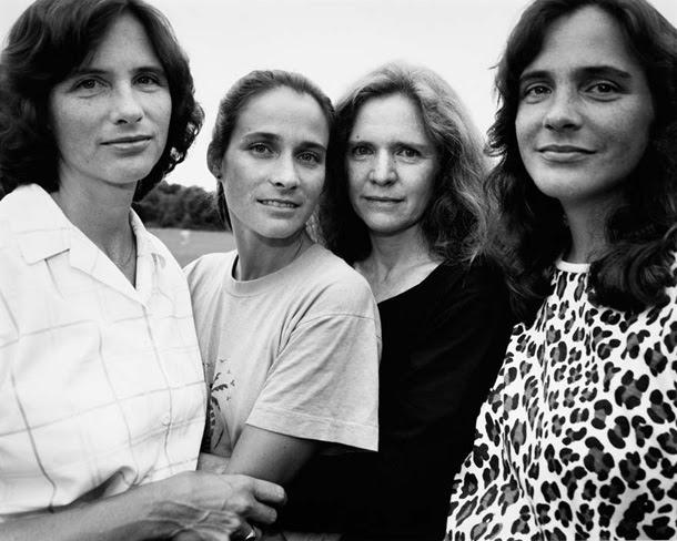 cuatro hermanas Nicholas Nixon