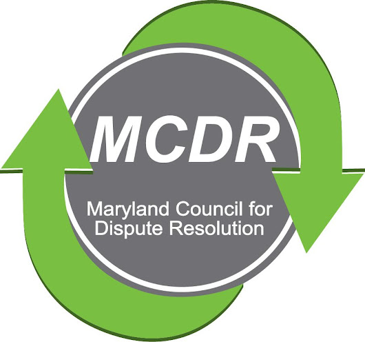 Maryland Council for Dispute Resolution (MCDR) - Home