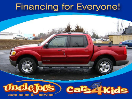 Used 2002 Ford Explorer Sport Trac 4WD Value - 200A for Sale in Howell MI 48843 Joseph Auto Sales