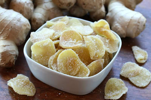 How To Make Crystallized Ginger - The Daring Gourmet
