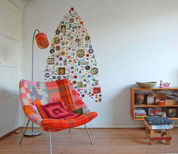 DIY Χριστουγεννιάτικα δέντρα (17)