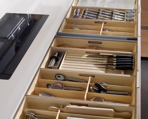 Casas cocinas mueble organizadores cajones cocina - Ikea organizadores cajones ...