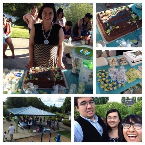 Day 16: Went to Ate Marie's baby shower! #93daysofsummer #summer2014 #babyshower