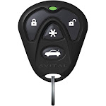Avital 7143L - 4-Button Replacement Remote Ask Transmitter