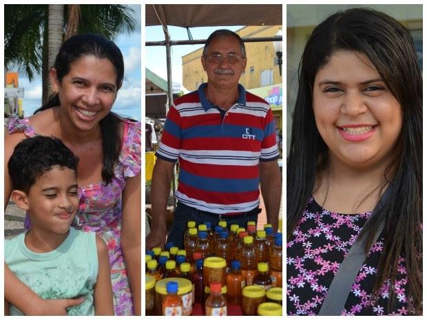 Eles fazem planos para 2015 e pedem paz, saúde e dinheiro (Foto: Iryá Rodrigues/G1)