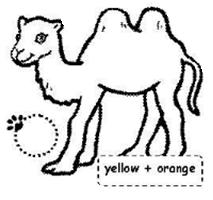 Hayvanlar Boyama Sayfası Eğitim Için