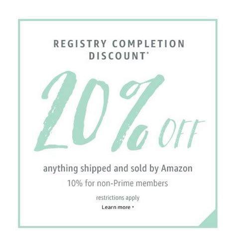 Wedding Registry Completion Discount from Amazon. #afflink
