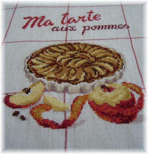 Torchon tarte aux pommes 2