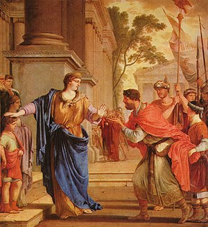 Cornelia rejects the crown of the Ptolemies