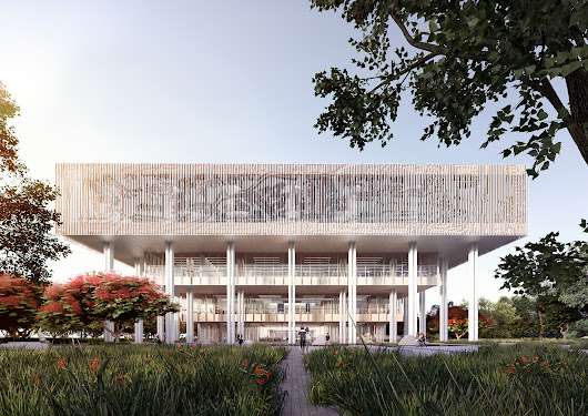 Mecanoo Wins Competition to Design Tainan Public Library | ArchDaily