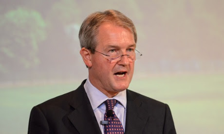 Environment secretary Owen Paterson who has hit out at