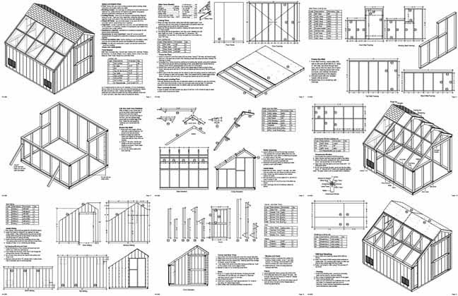 Green house plans house and television bqbrasserie shed greenhouse plans build a yourself solutioingenieria Gallery