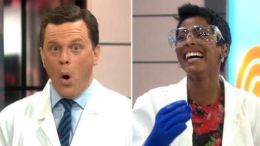 'Unbelievable!' Watch the voice-changing science trick that cracked us up