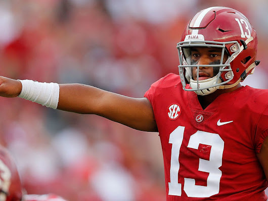 Tagovailoa propels No. 1 Alabama past No. 22 Texas A&M