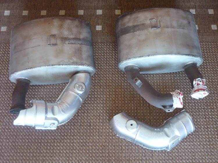 Porsche 993 Bb Sport Exhaust With Heater Boxes Non Turbo