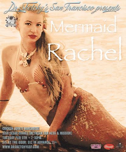2.5.13 Dr Sketchy's presents Mermaid Rachel