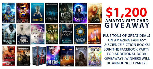 Epic Fantasy & SF $1200 Giveaway — last week to enter! - Author Cate Rowan