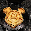 Gluten Free Mickey Mouse Waffles