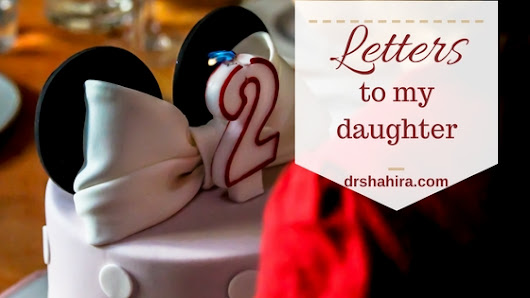 Letters to my daughter #8